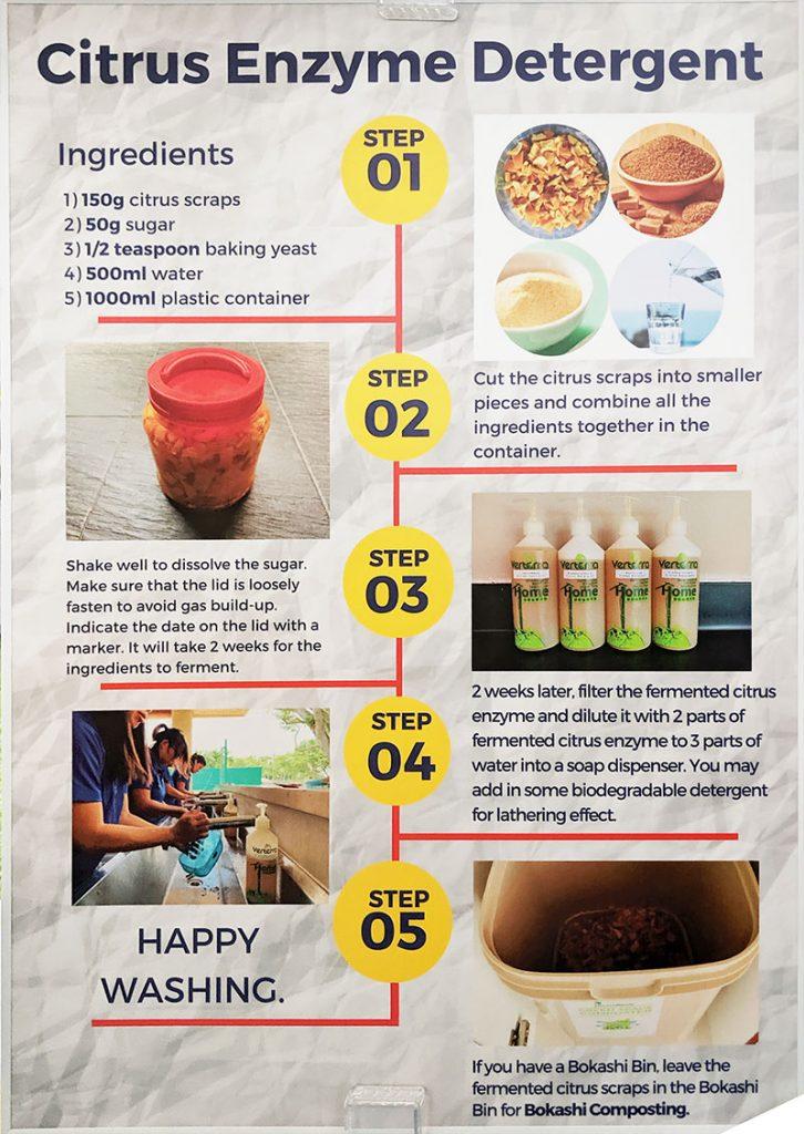 Citrus Enzyme Detergent