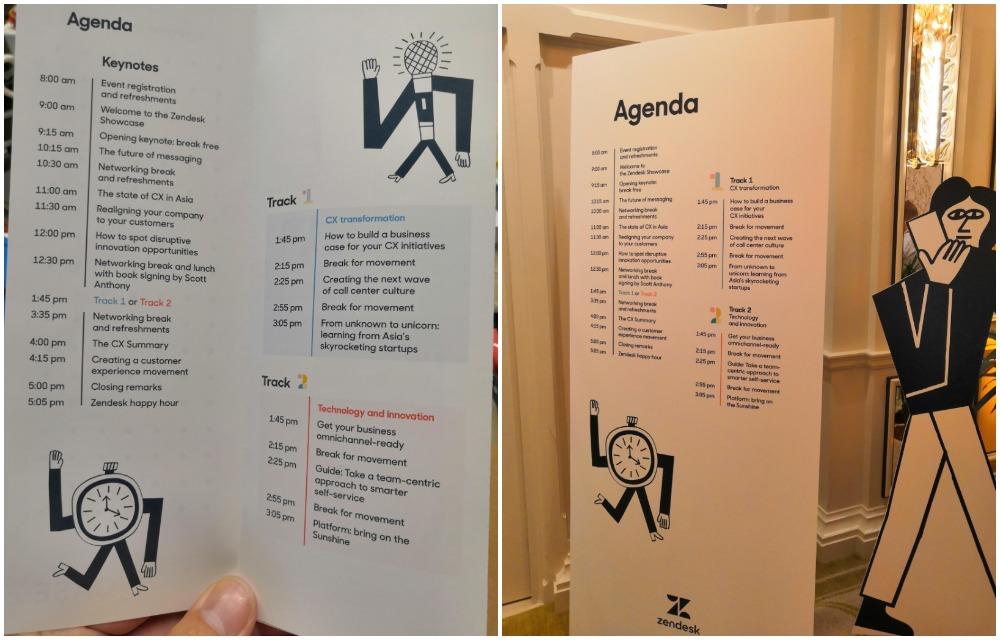 Zendesk Showcase Agenda