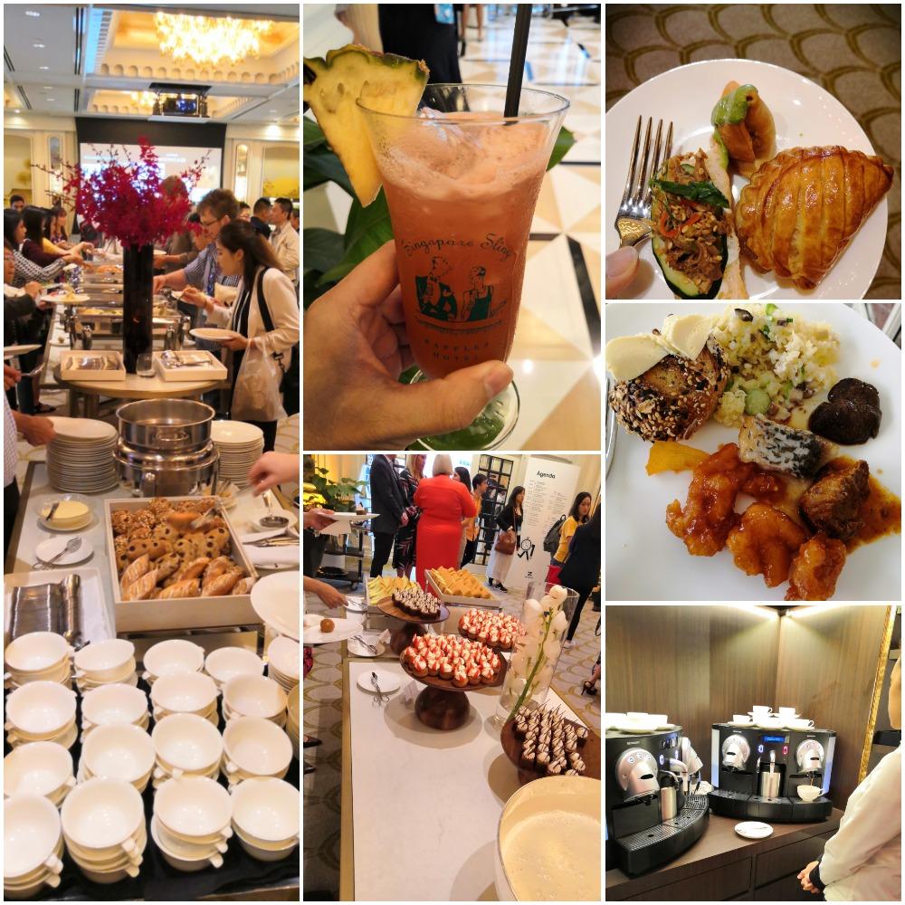 Raffles Hotel Catering for Zendesk Showcase