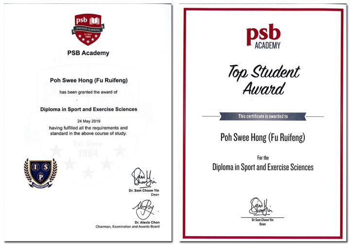 Completing the PSB Academy Diploma in Sport and Exercise Sciences